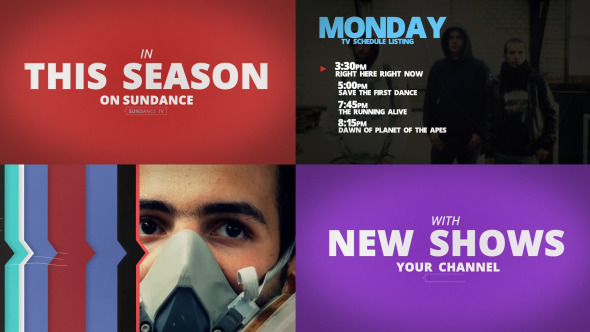 Sundance TV Rebrand   After Effects Project