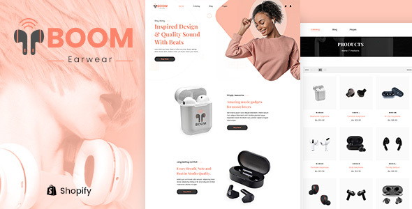 Boom – One Product Multipurpose Shopify Theme
