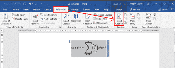 How To Add A Figure Caption In Word 5