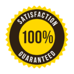 100% Satisfaction Guarateed