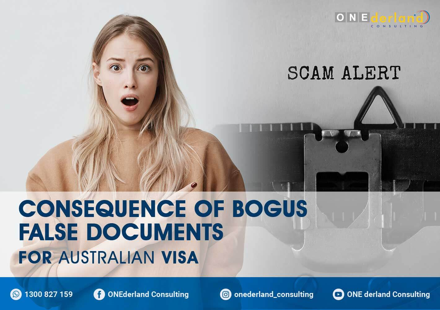 Consequence of Bogus False Documents for Australian Visa