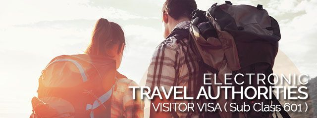 How to Apply Electronic Australian Visitor Visa subclass 601