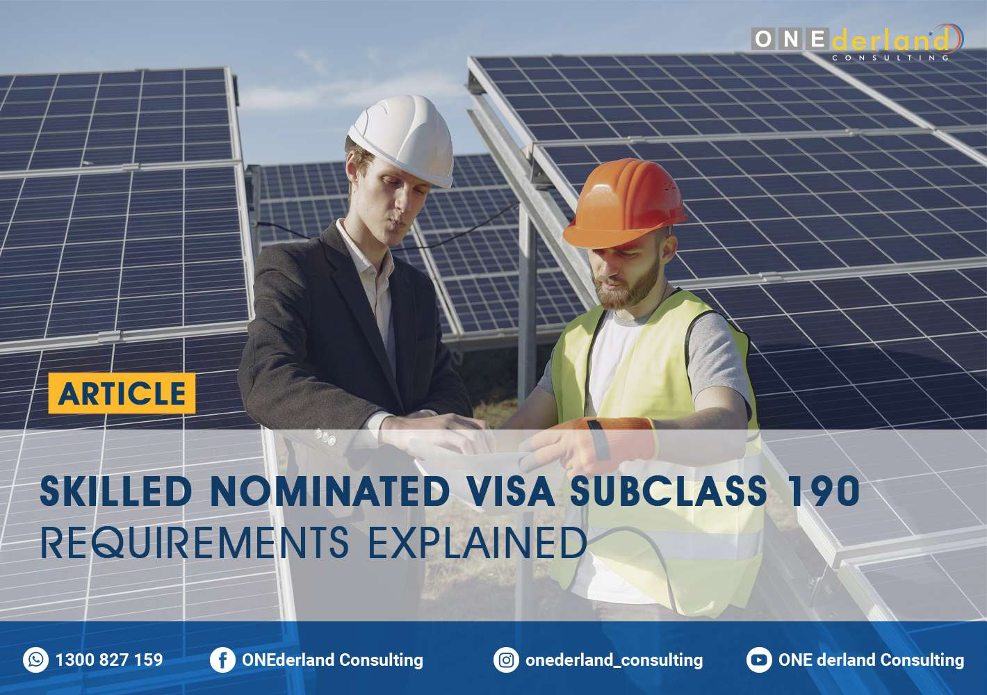 Skilled Nominated Visa Subclass 190 Requirements Explained
