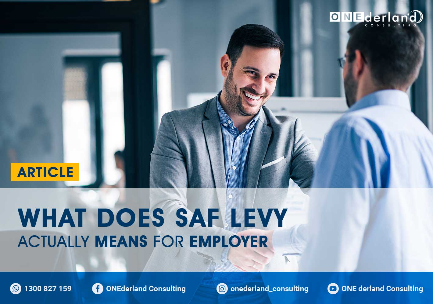 What Does SAF Levy Actually Means For Employer?