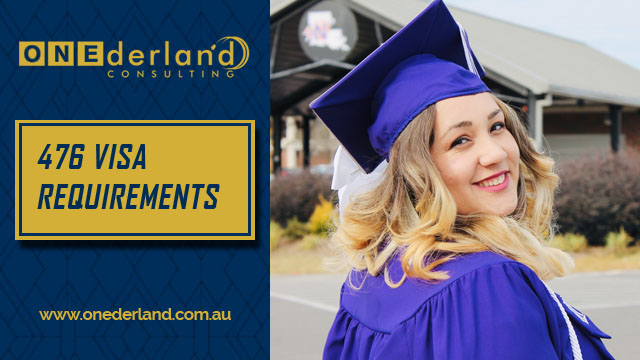 Skilled – Recognised Graduate 476 Visa Requirements