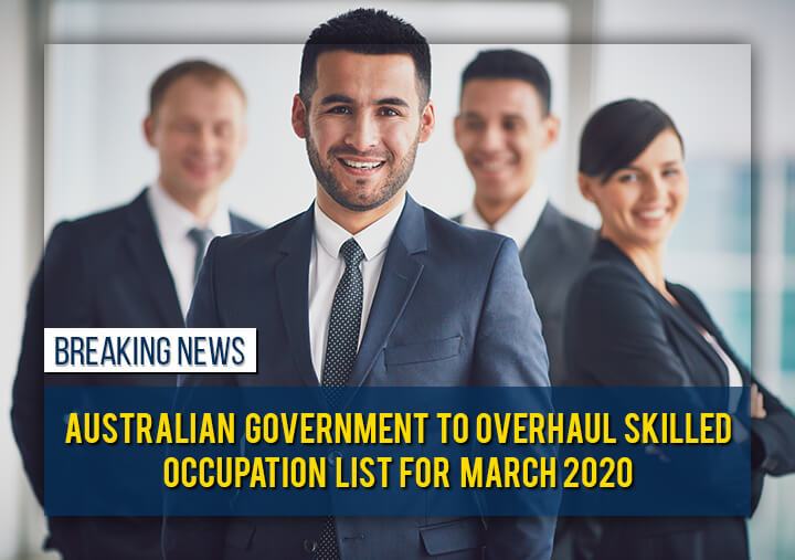 Australian Government to overhaul Skilled Occupation Visa for March 2020
