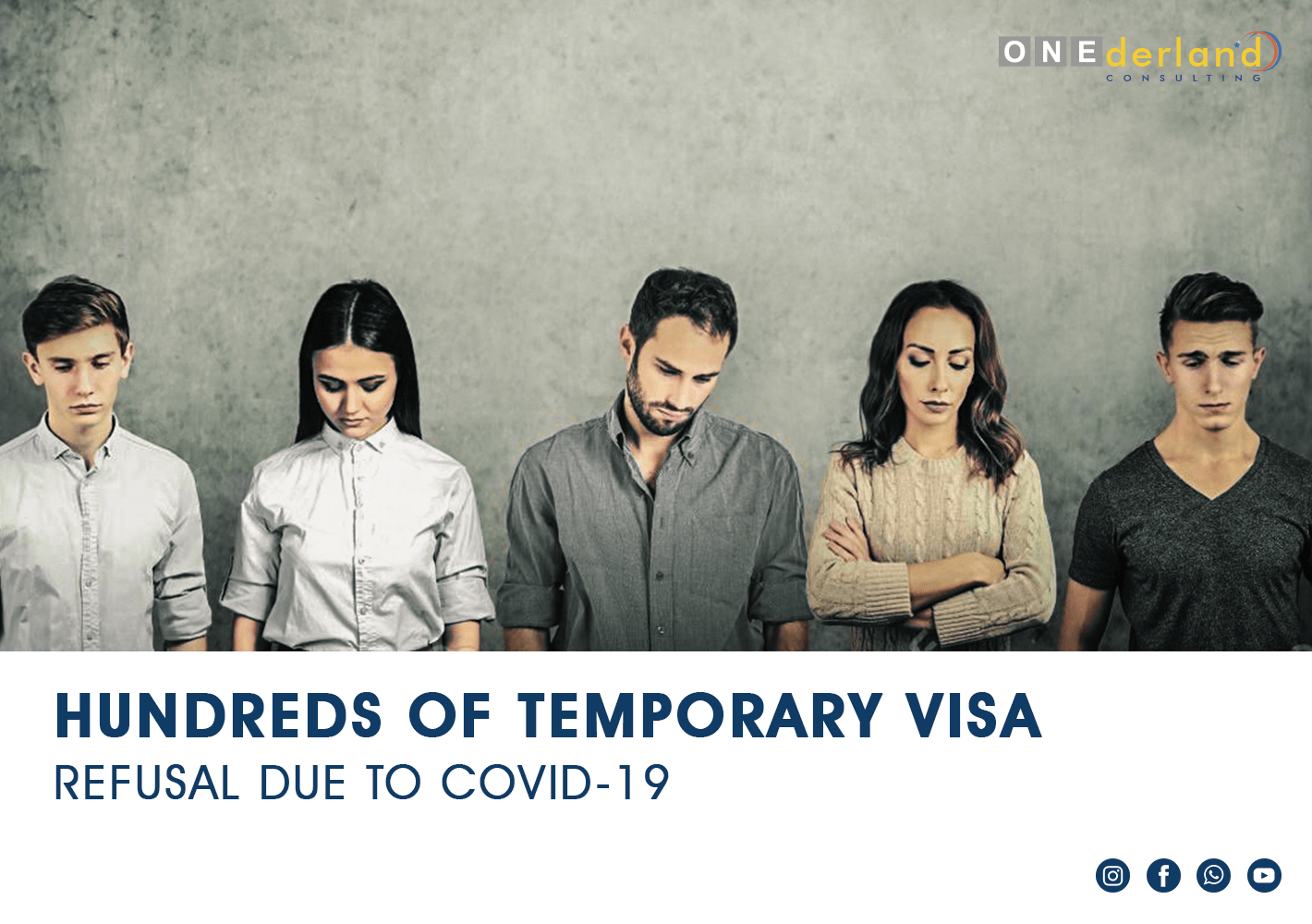 Hundreds Visa Refusals COVID-19