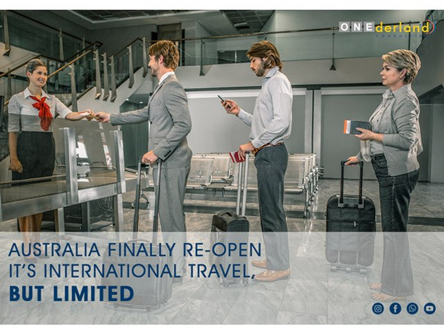 Australia Finally Reopen It's International Travel, But There Is Some Limit.