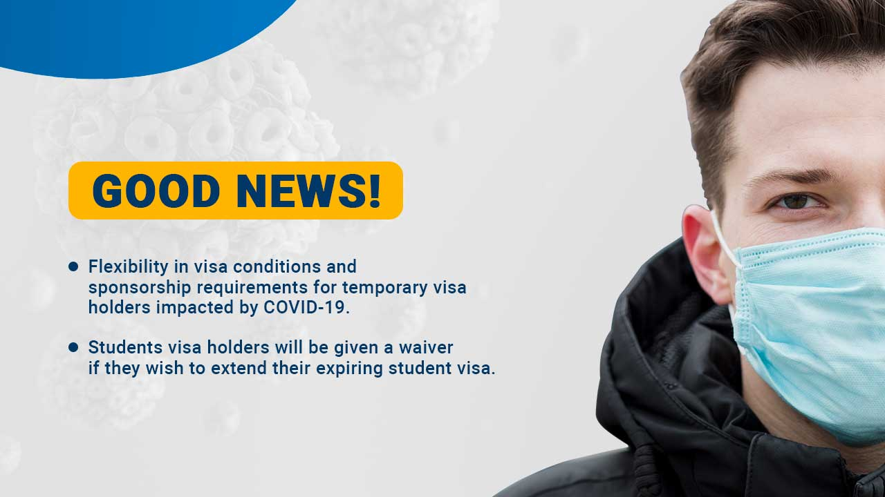 I AM HOLDING A TEMPORARY VISA IN AUSTRALIA, WHAT'S THE IMPACT OF COVID-19 PANDEMIC TO MY VISA APPLICATION