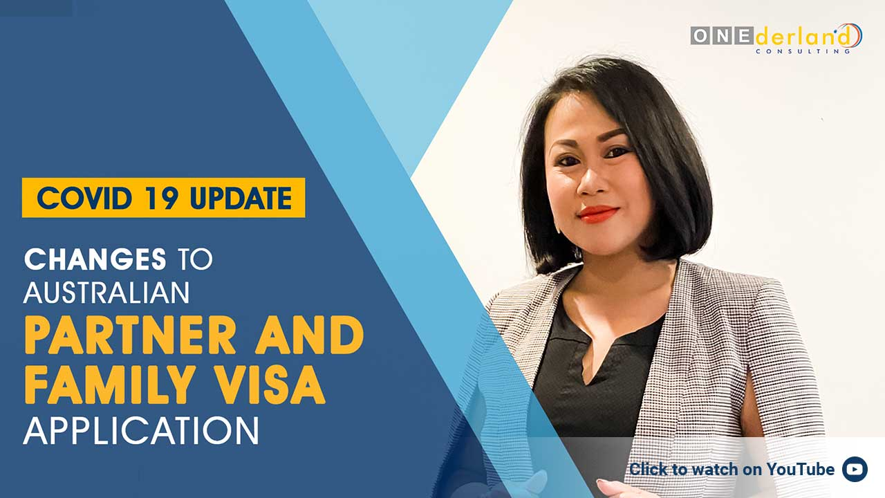 Changes to Australian partner and family visa COVID-19 update