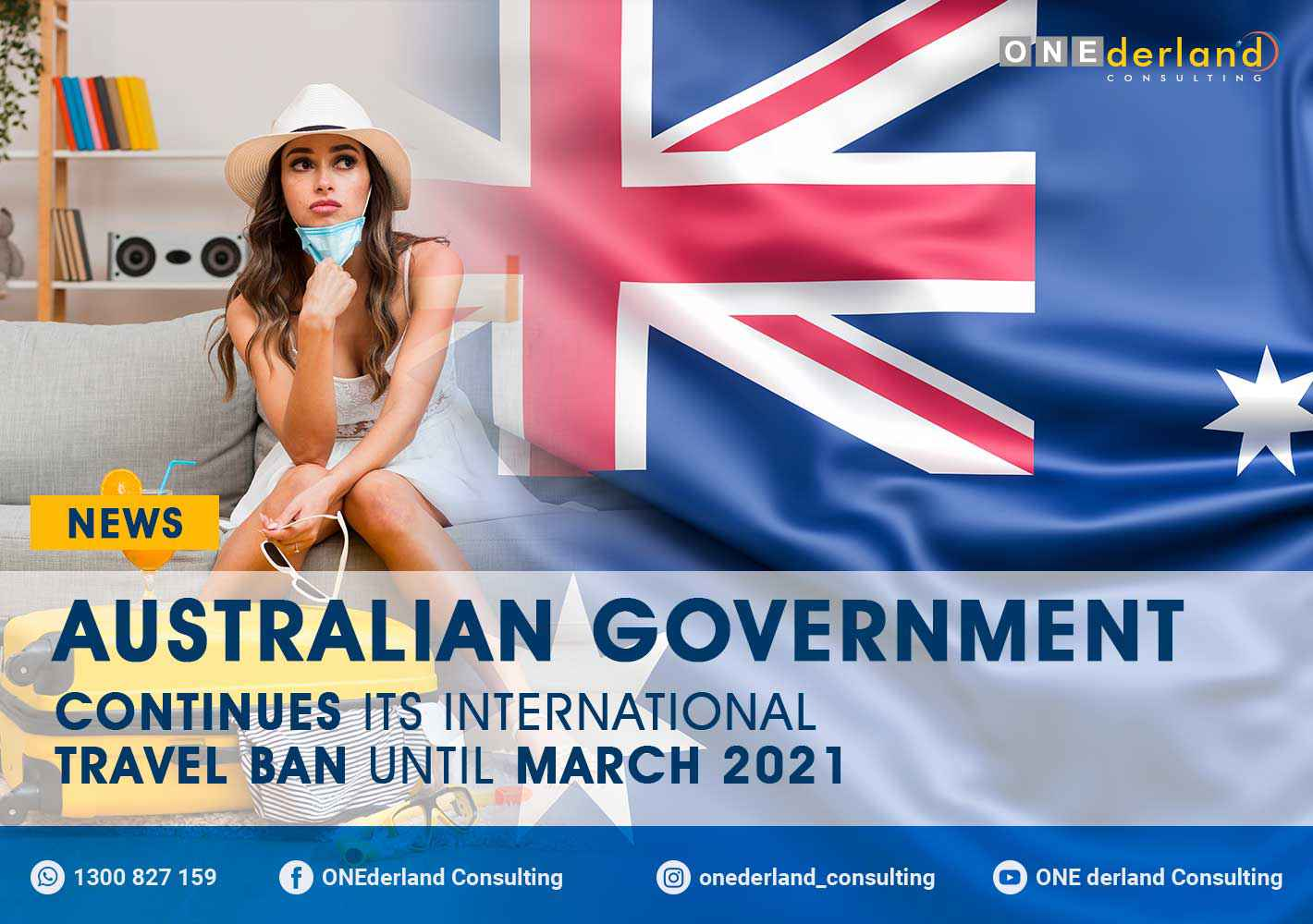 Australian Government Continues Its International Travel Ban Until March 2021