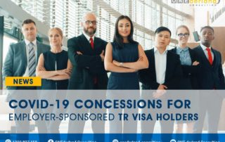COVID-19 CONCESSIONS PLAN FOR EMPLOYER-SPONSORED TR VISA HOLDERS