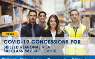 COVID-19 Concessions For Skilled Regional Visa Subclass 887 Applicants