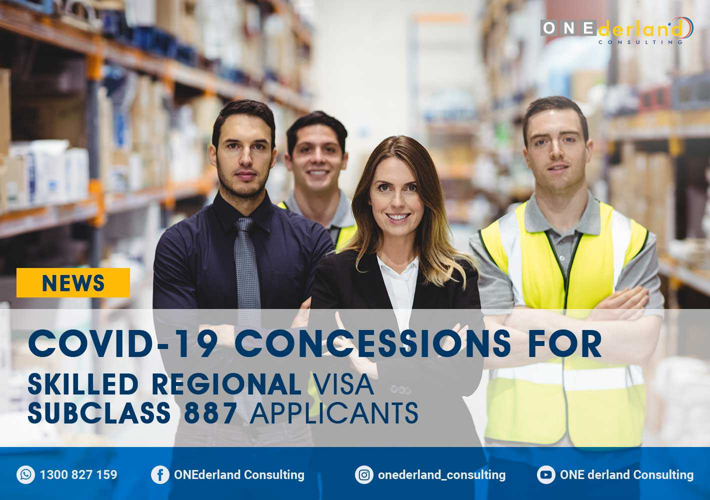 COVID-19 Concessions For Skilled Regional Visa 887 Visa Applicants