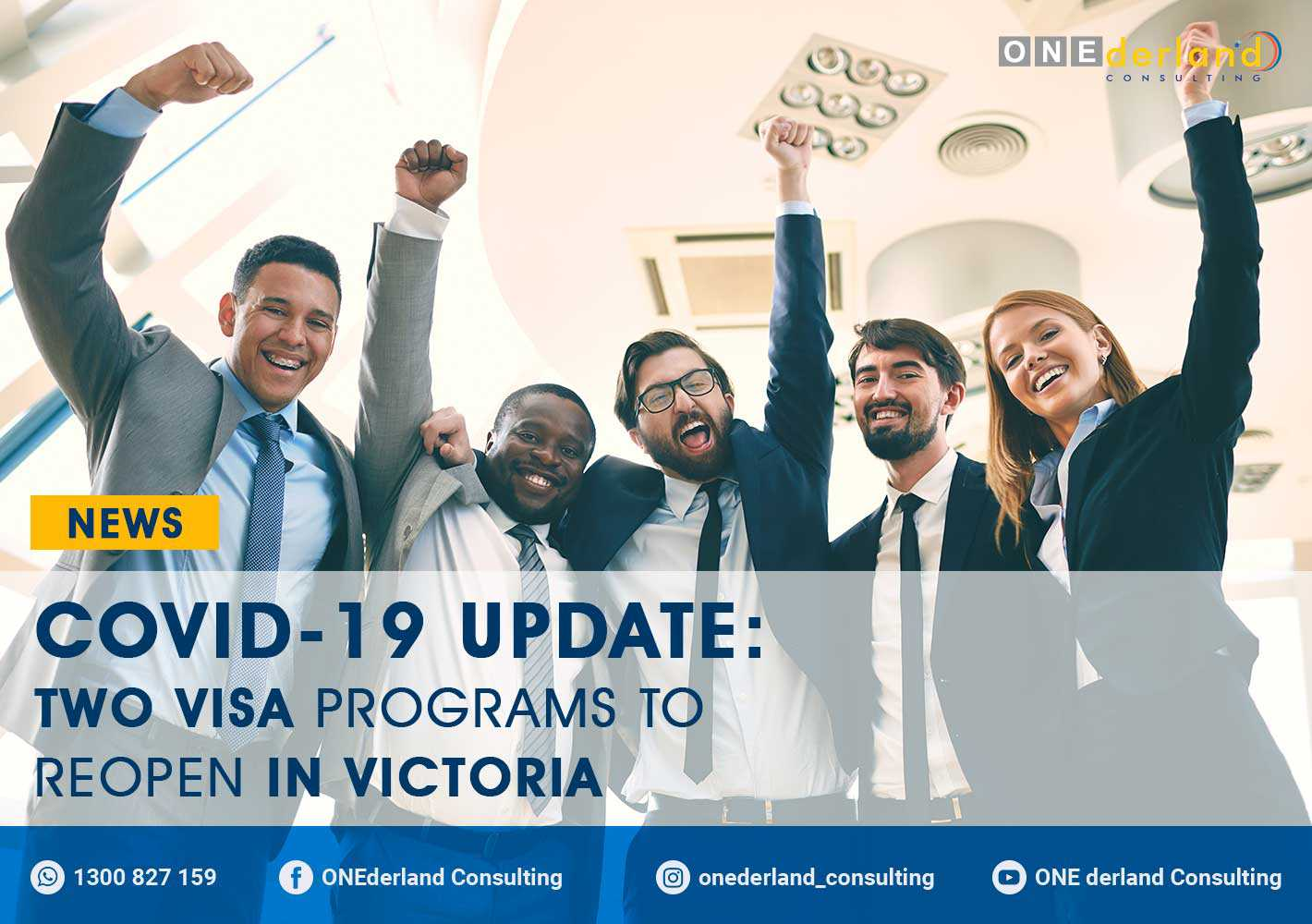 COVID-19 Update: Two Visa Program To Reopen In Victoria