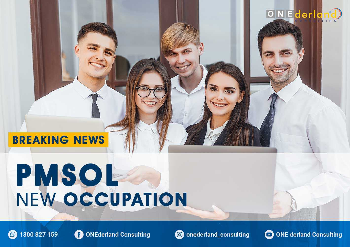 PMSOL – Priority Migration Skilled Occupation List Update New Occupation