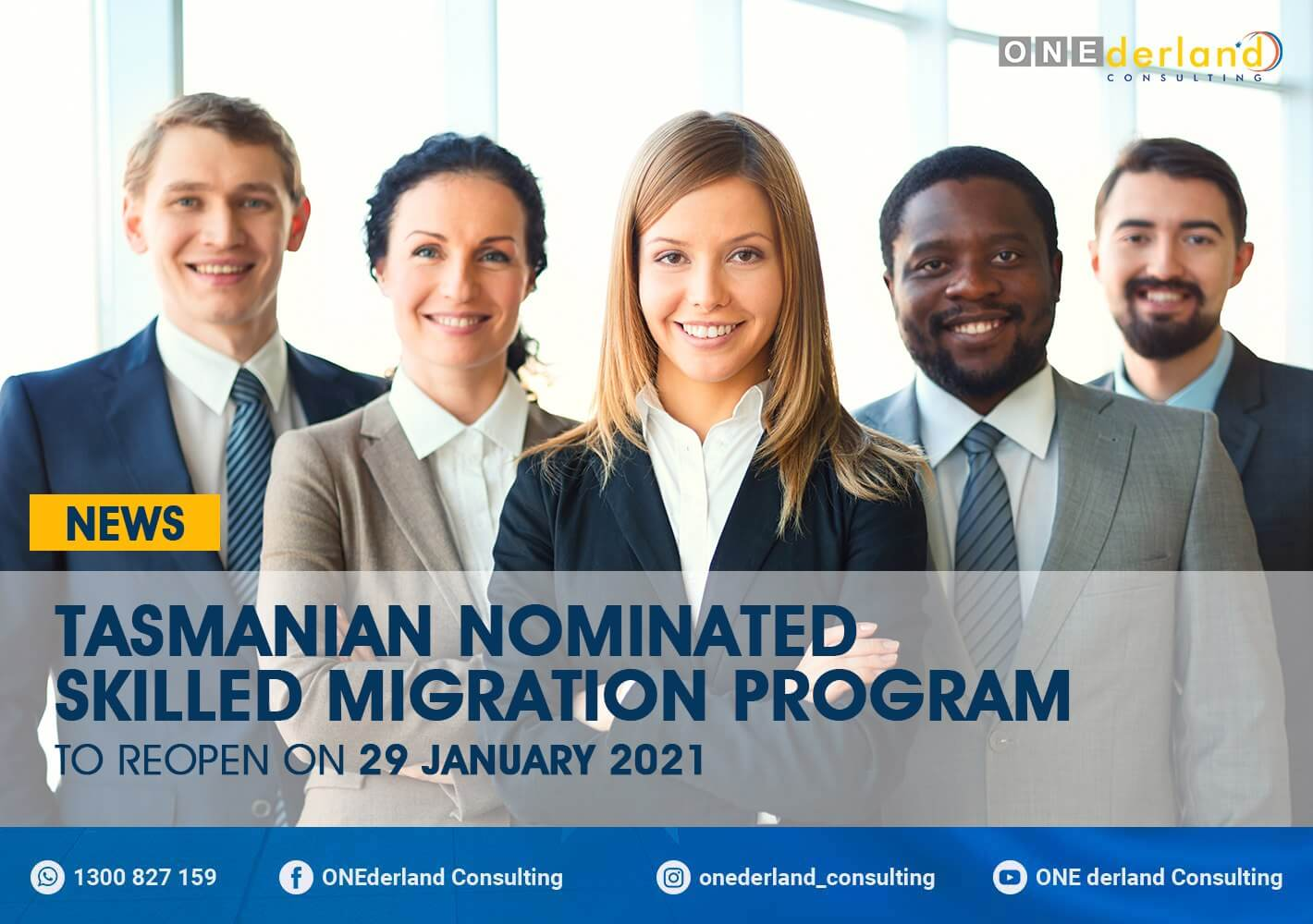 Tasmanian Nominated Skilled Migration Program Reopens On 29 January 2021
