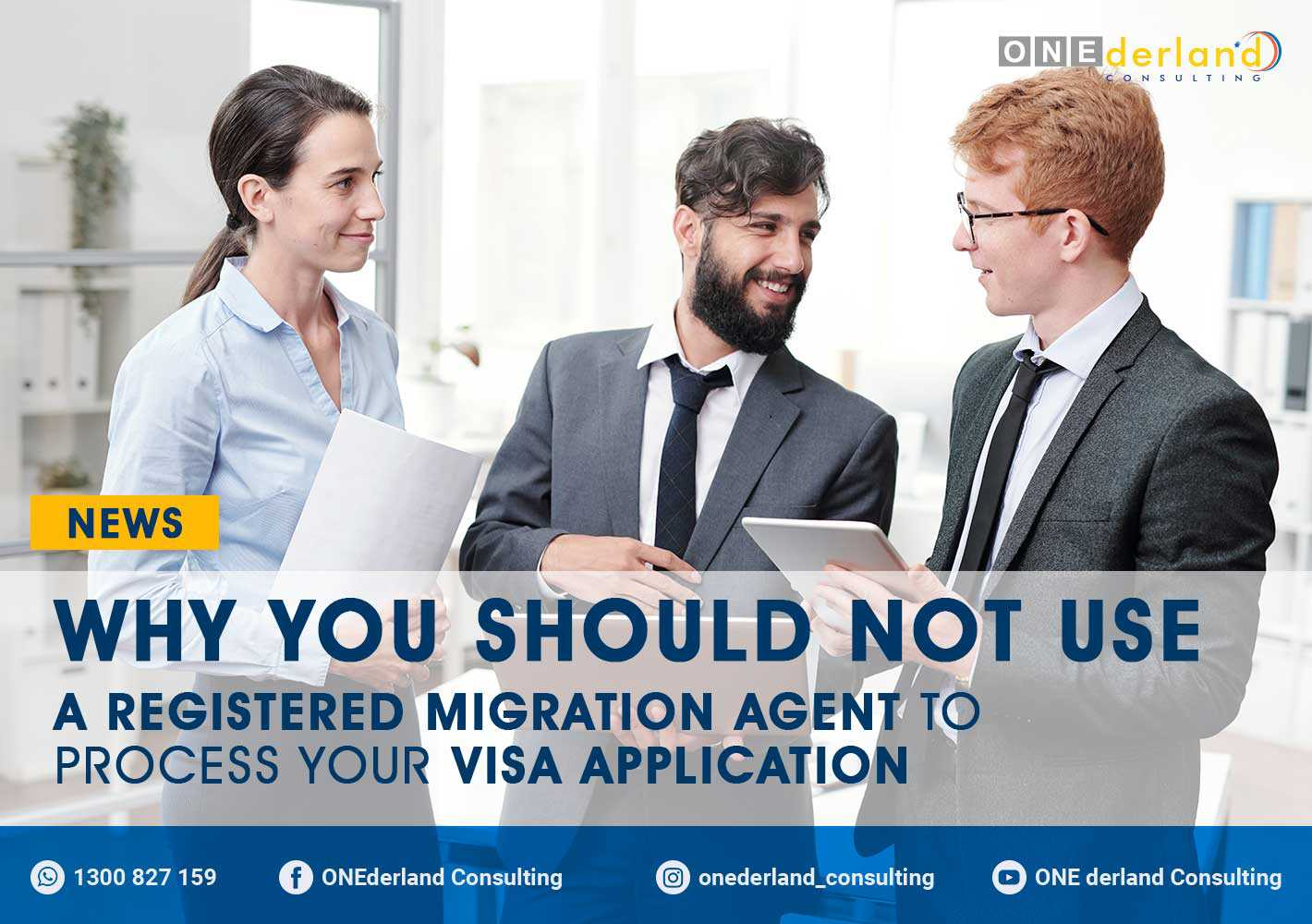 Why You Should Not Use A Registered Migration Agent For Your Visa Application