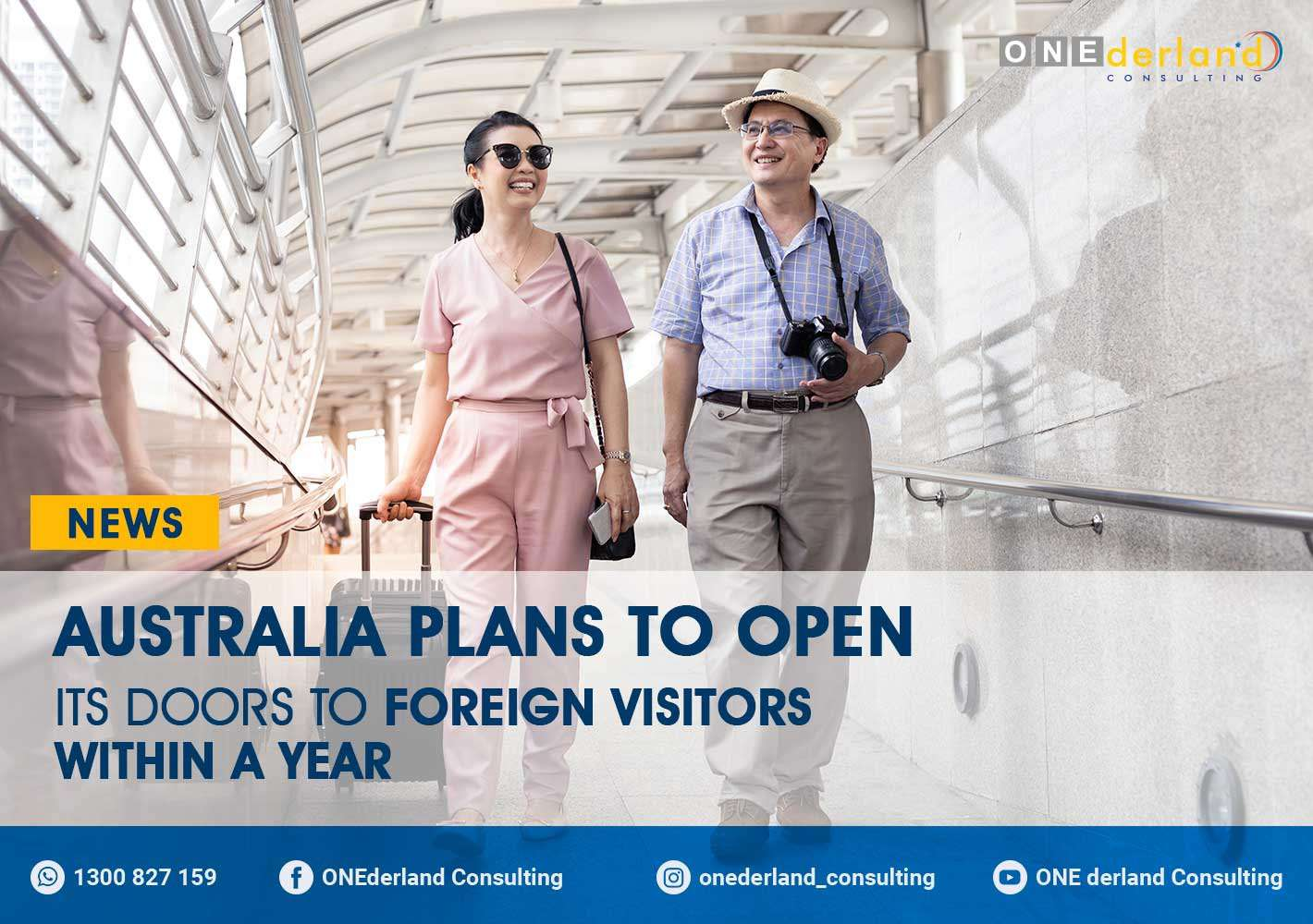 Australia Plans To Open Its Doors to Foreign Visitors Within A Year