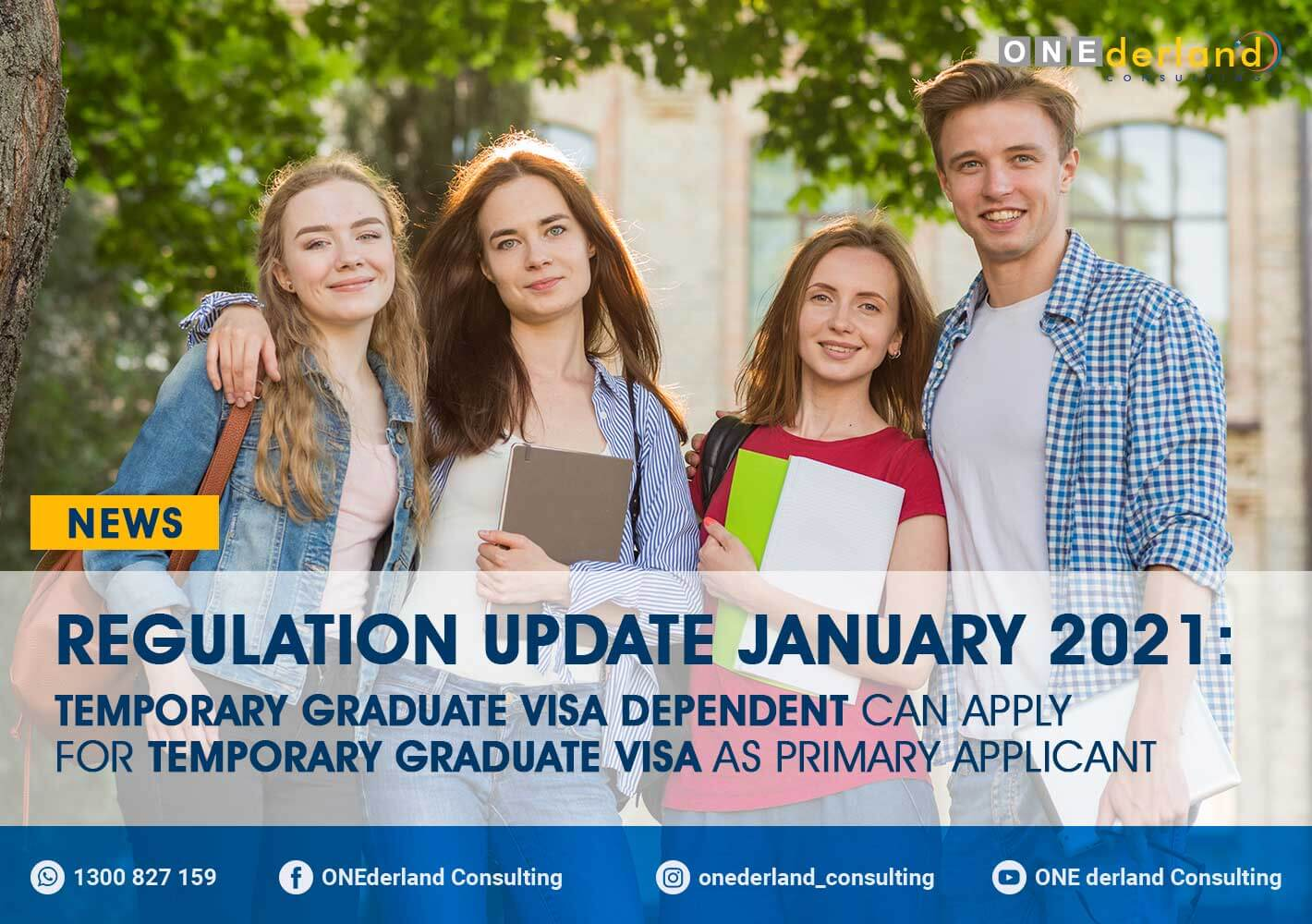 Graduate Visa Regulation Update – Dependent Graduate Visa Holders May Apply As A Primary Applicant