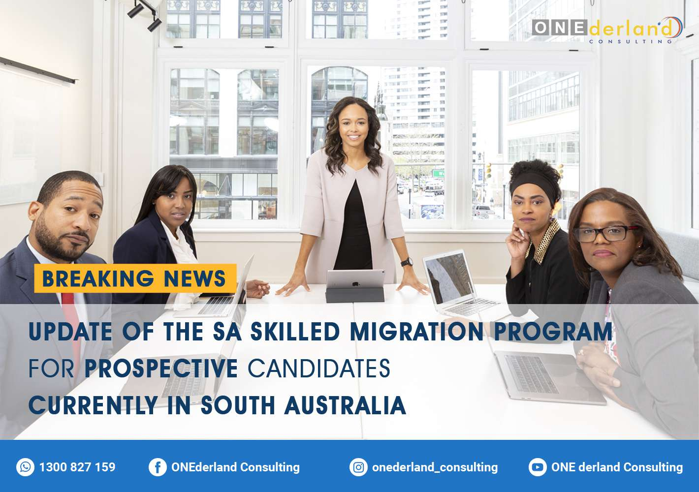 Update of the Skilled Migration Program for Prospective Candidates Currently In South Australia