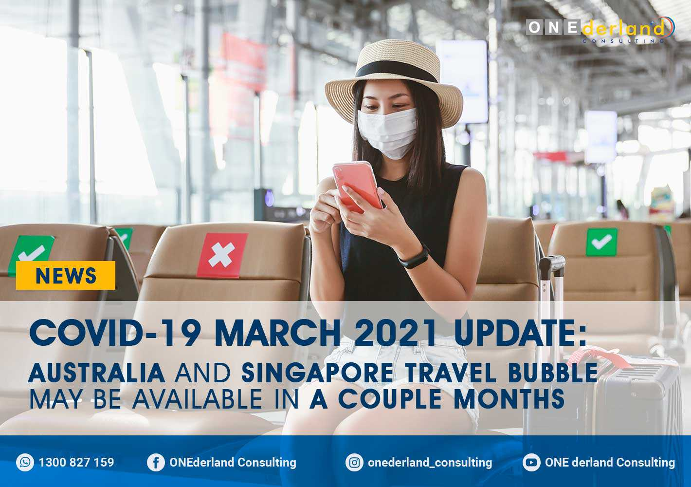 Australia and Singapore Travel Bubble May be Available in a Couple of Months