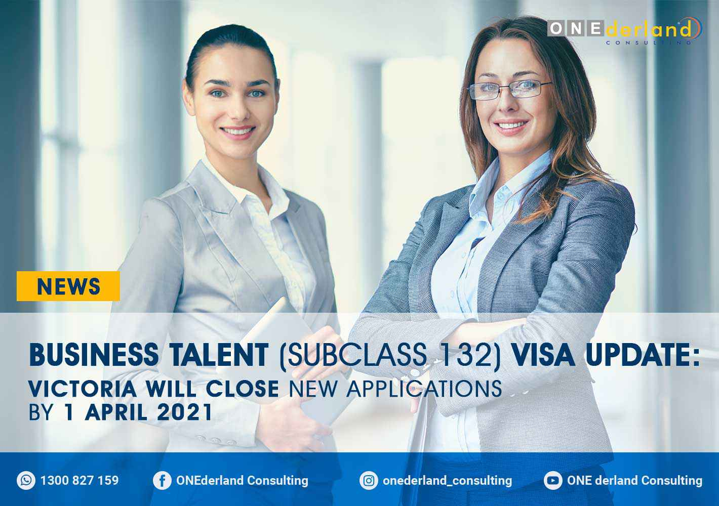 Business Talent (subclass 132) Visa Update: Victoria Will Close New Applications by 1 April 2021