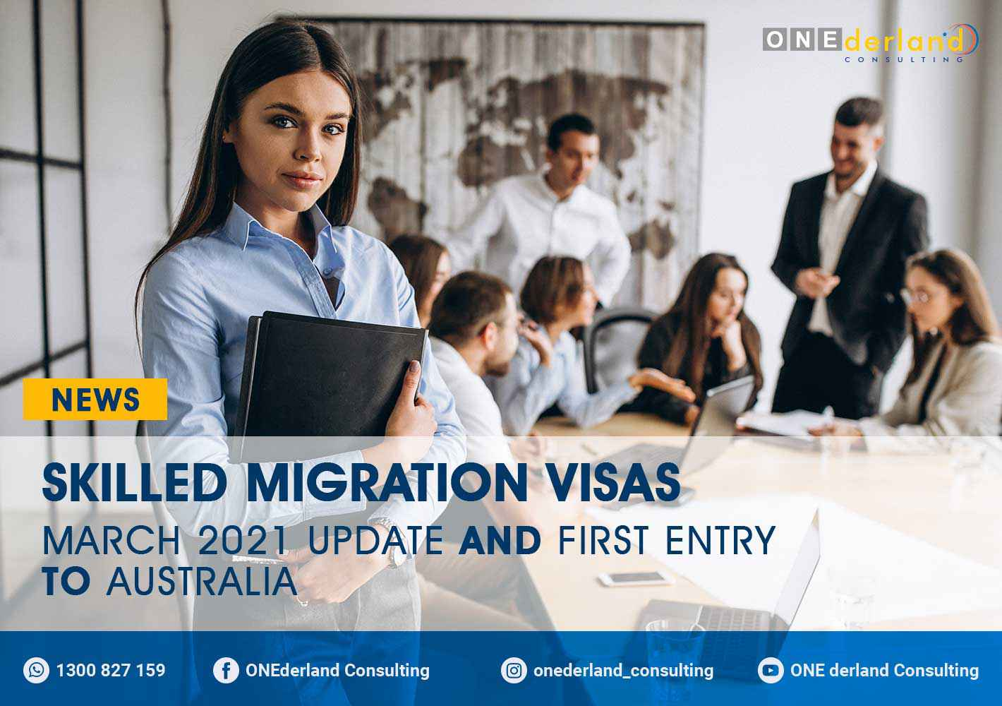 COVID-19 MARCH 2021 UPDATE: Skilled Migration Visas and First Entry to Australia