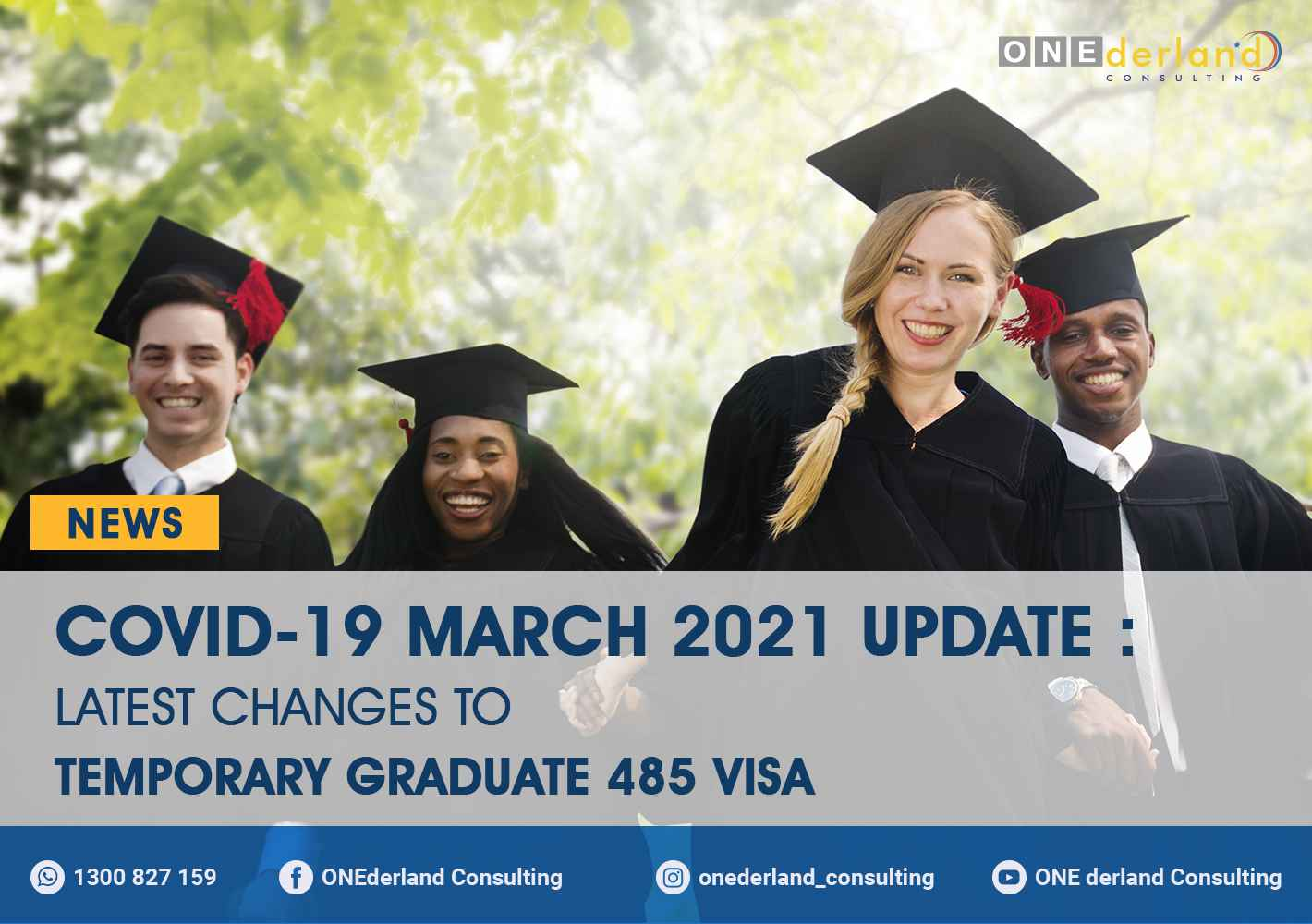 COVID-19 UPDATE: March 2021 Changes to Temporary Graduate 485 Visa