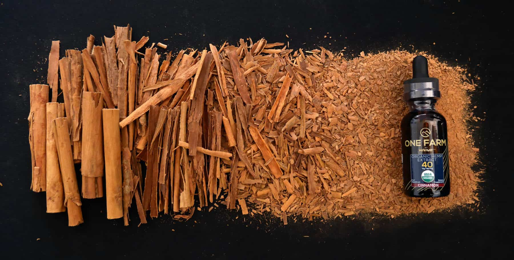 One Farm Cinnamon and Ingredient