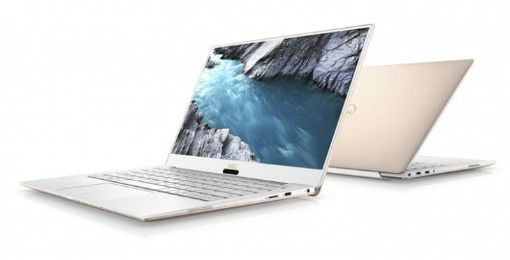 Dell XPS 13 with Intel 8th generation processors and 4K screen CES 2018