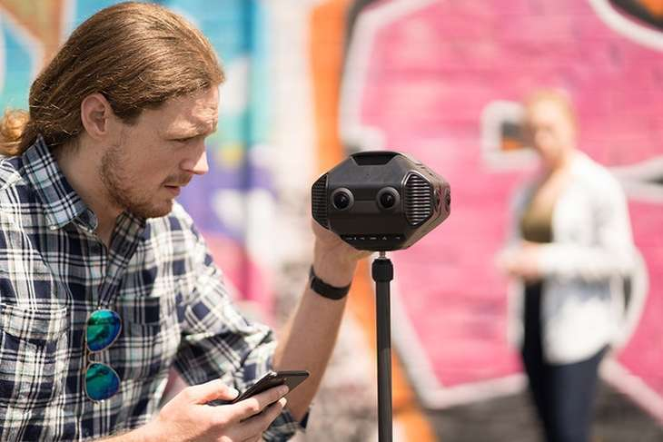 Detu MAX, 3D, 8K and 360º Virtual Reality camera with built-in AI chip