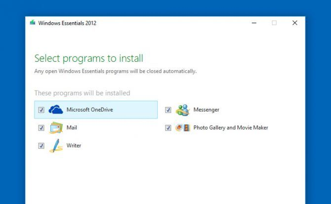 Windows Live Essentials is still alive and you can install it on Windows 10