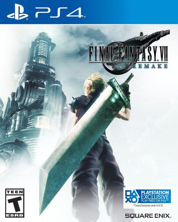 Final Fantasy VII Remake will be temporarily exclusive to PS4 for 1 year