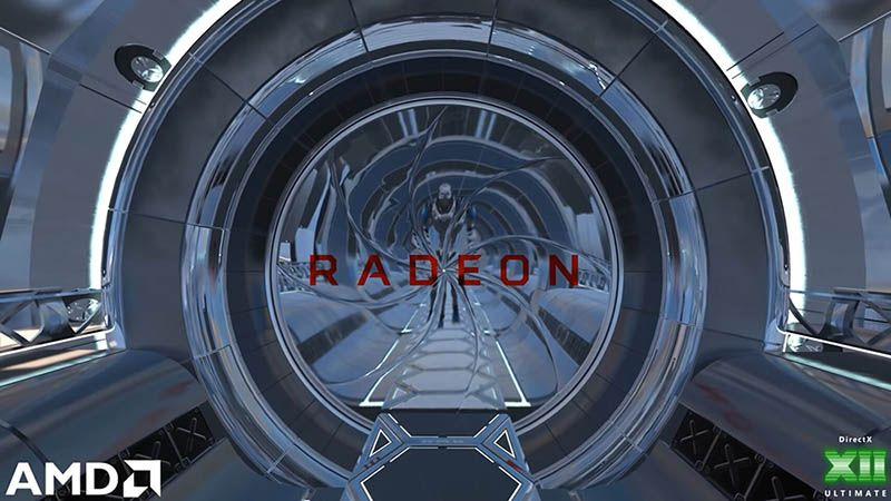 AMD shows support for Ray-Tracing of Navi 2X in its latest demo