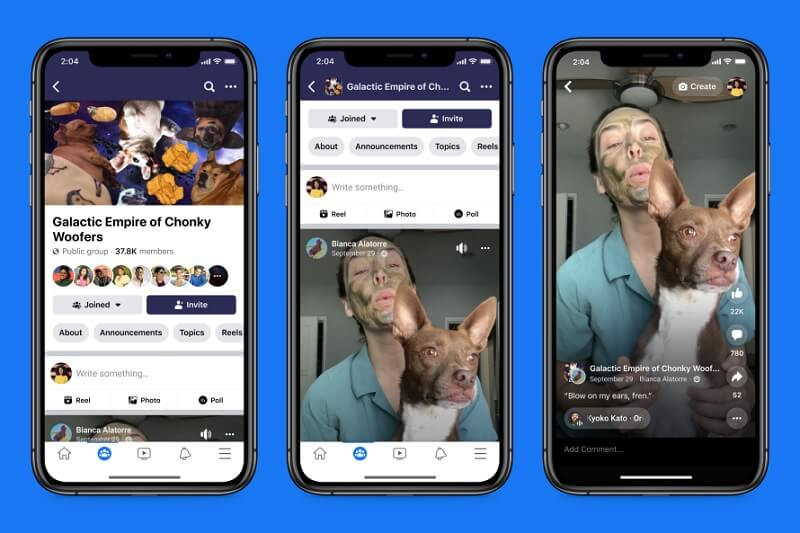 Facebook to launch Reels to compete with TikTok