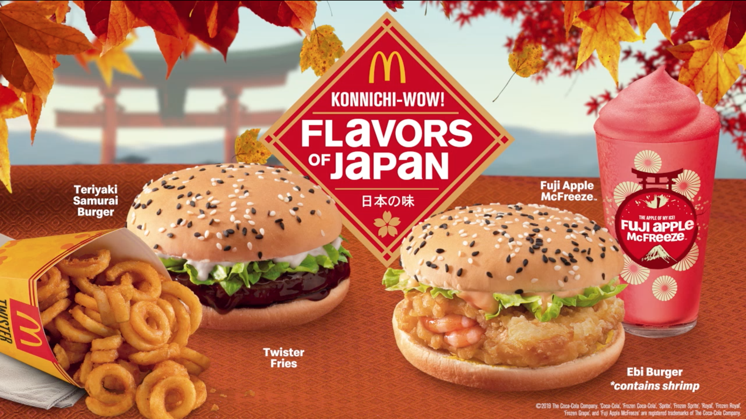 Mcdonald S Brings Back Flavors Of Japan Together With Twister
