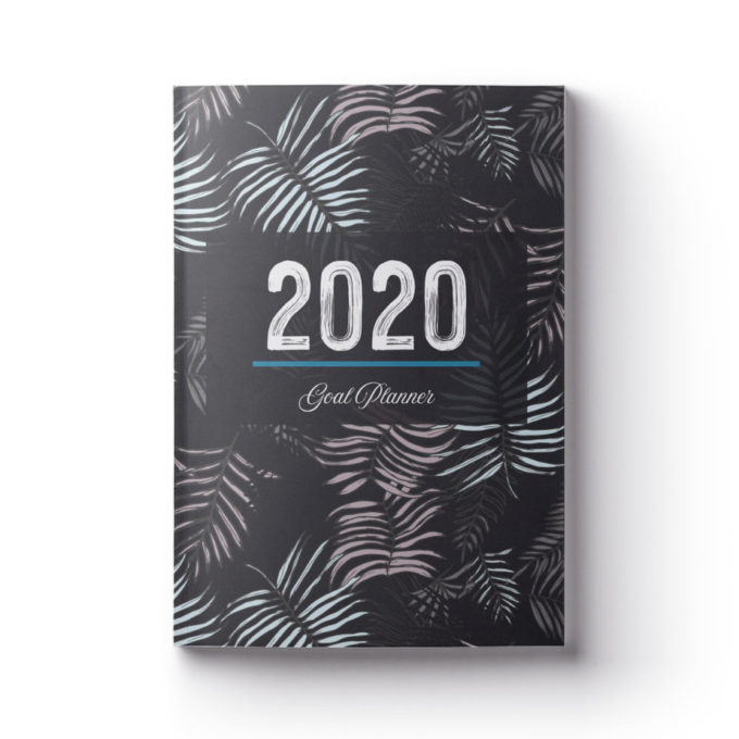 2020 Goal Planner Dark Leaves Edition