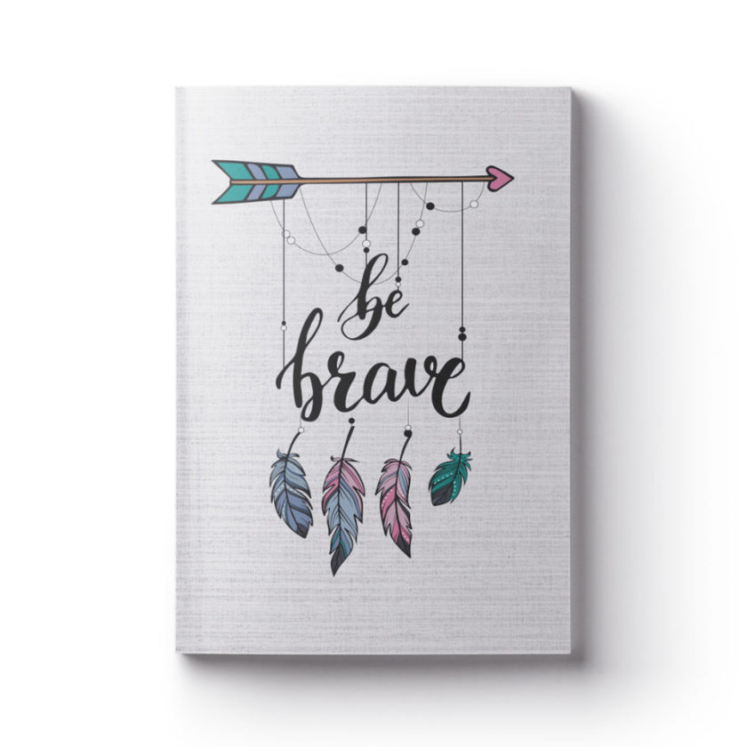 BE BRAVE anxiety management planner