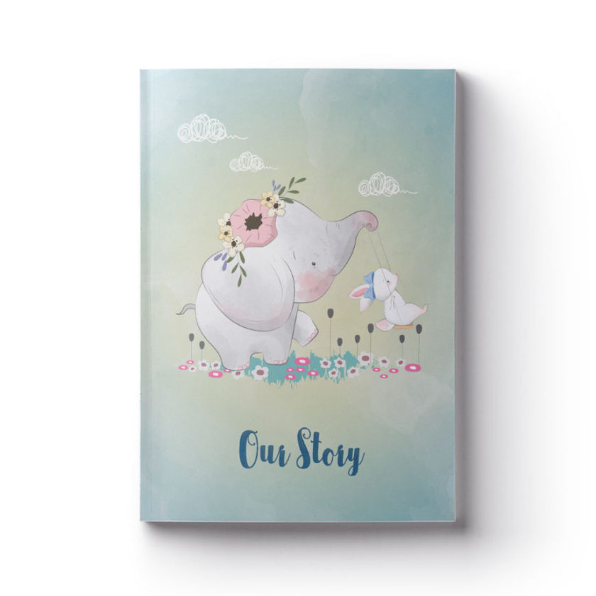OUR STORY fostering book journal