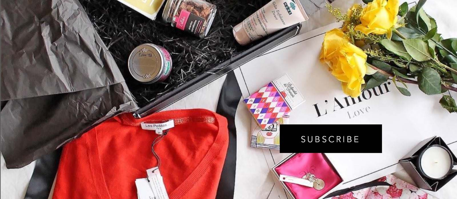 OuiPlease Subscribe L'amour Love French Brands Les Petites Paris Nuxe luxury skincare
