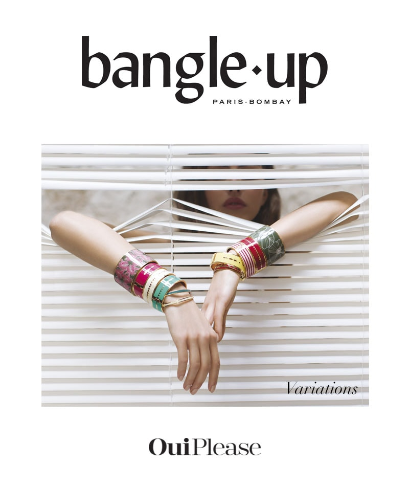 OuiPlease Spoiler Alert Bangle Up French luxury jewelry brand