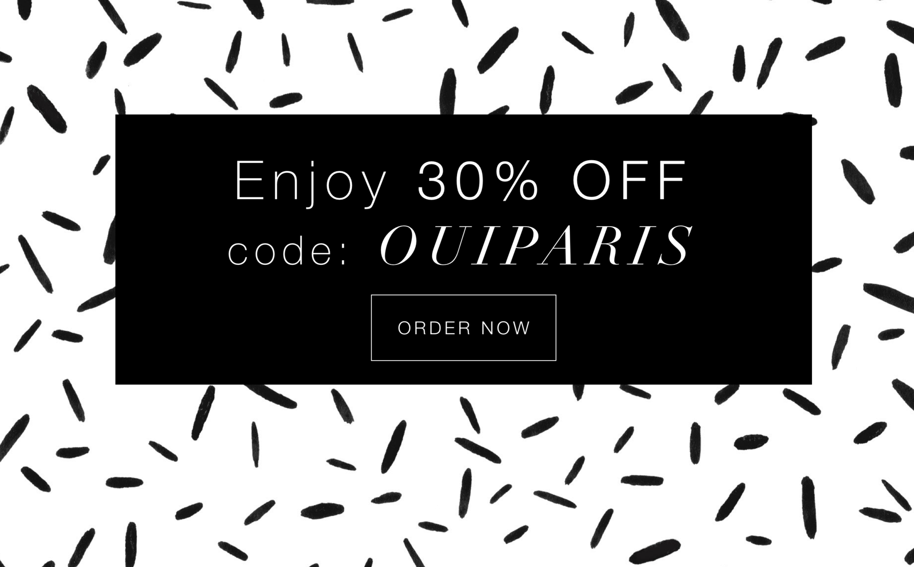 OuiPlease coupon code Limited Edition Subscription Box 2.4 Paris