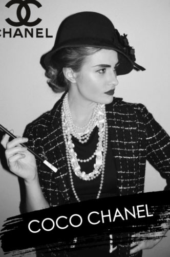French-inspired Halloween Costumes: Coco Chanel