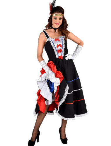 French-inspired Halloween Costumes: French Can Can dancer