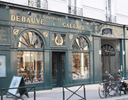 National Chocolate Day: Debauve & Gallaisa Chocolate Shop in France