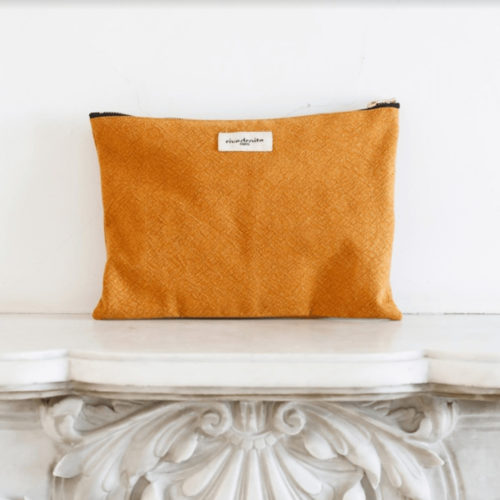 Rive Droite Mustard Yellow Pouch