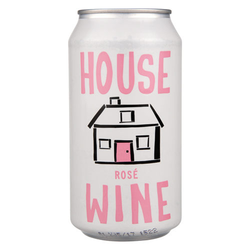 House Canned Rosé Wine