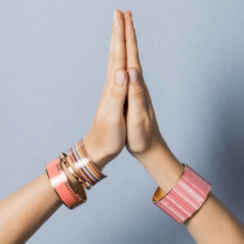 Bangle Up Paris with Hands Together