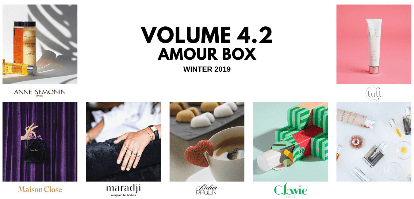 OuiPlease Volume 4.2 Amour box